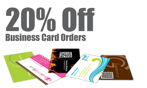 business card promotion